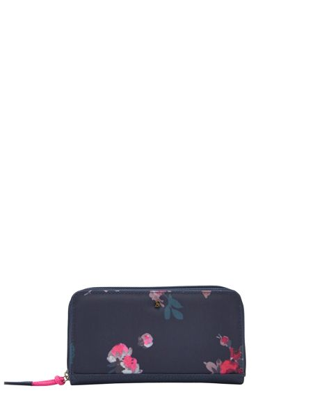 Joules Coated Canvas Large Purse
