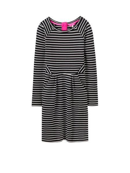 Joules Long sleeve sweat dress