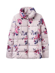 Joules Printed Padded Jacket