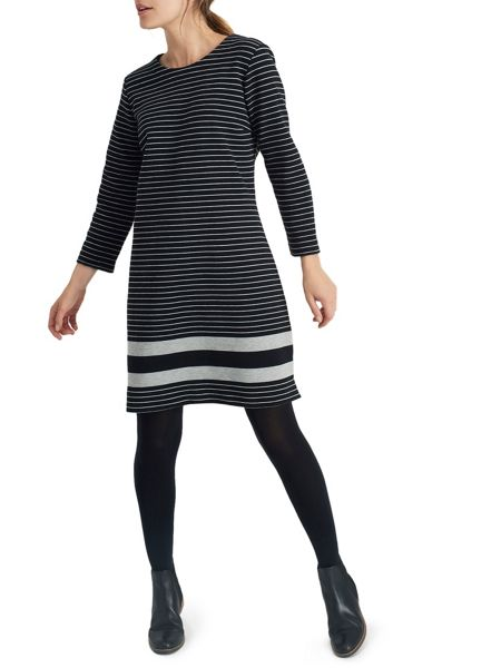 Joules Textured ottoman dress