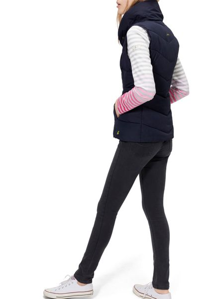 Joules Padded High Neck Gilet