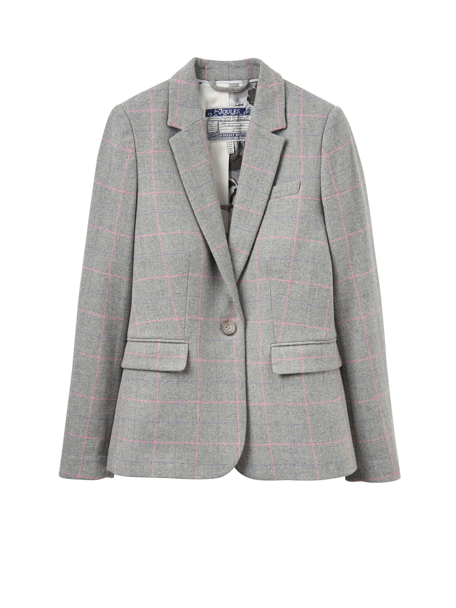 Joules Tweed blazer, Grey