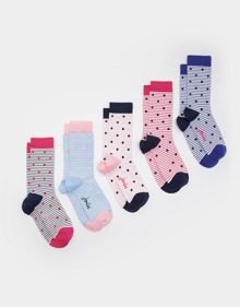 Joules Brilliant bamboo ankle sock set