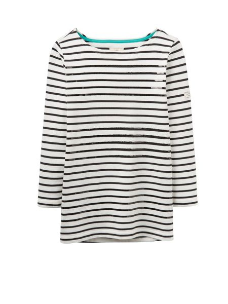 Joules Harbour luxe jersey top