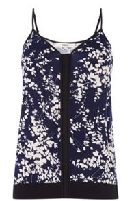 Clustered Shadow Print Cami