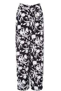 Monochrome Wideleg Trousers