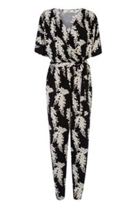 Lotus wrap jumpsuit