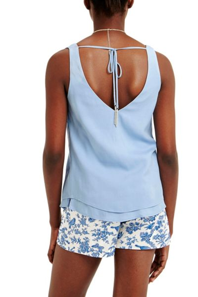 Oasis V Front And Back Cami