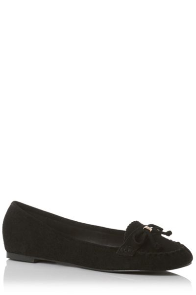 Oasis Sindy Suede Soft Moccasin