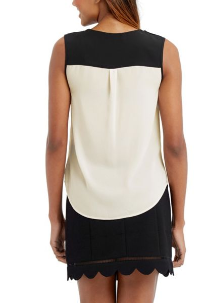 Oasis Frill Piped Shirt