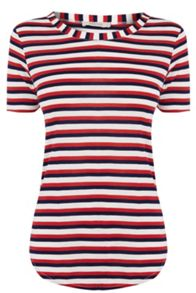Oasis Multi Stripe Perfect Tee