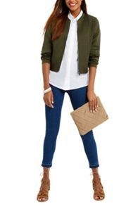 Oasis Satin Matt & Shine Bomber
