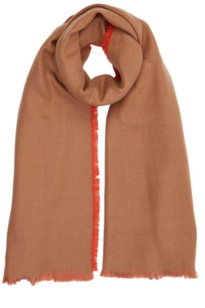 Oasis Plain Brushed Woven Scarf
