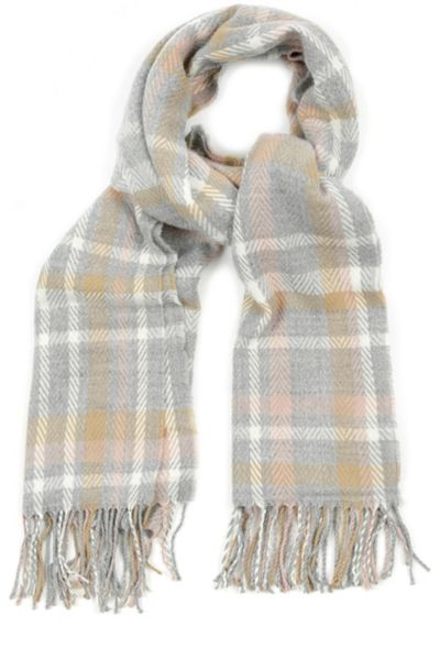 Oasis Reversible Check Scarf