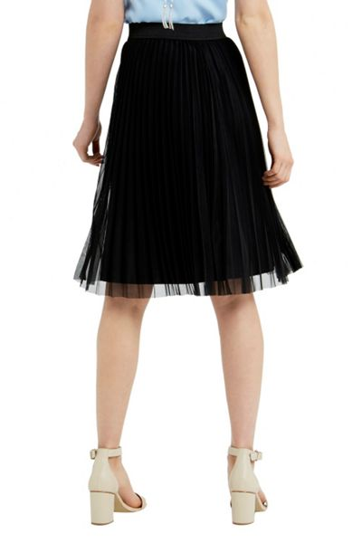 Oasis Pleated Mesh Skirt