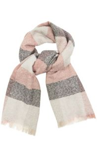 Oasis Pretty Lurex Check Scarf