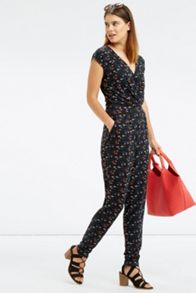 Oasis Ditsy Print Jumpsuit