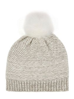 Brushed Knitted Hat