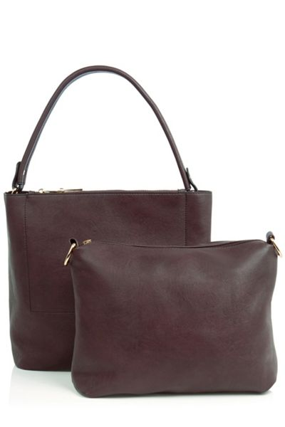 Oasis Honour Double Pocket Hobo
