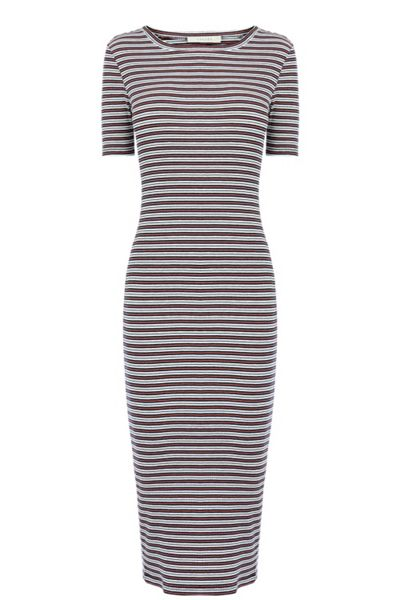Oasis Stripe Rib Tube Dress