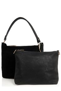 Oasis Honour Suede Patched Hobo