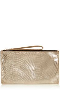 Oasis Leather Lily Snake Purse