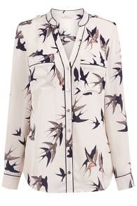 Oasis Bird Piped Shirt