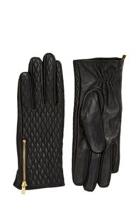 Oasis Leather Quilted Glove