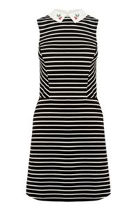 Oasis Cherry Stripe Dress
