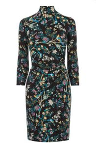 Oasis V&A Ruche Dress