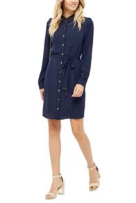 Oasis Utility Piped Shirt Dress