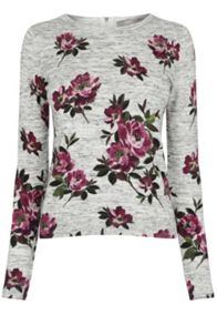Oasis Painted Rose Knit