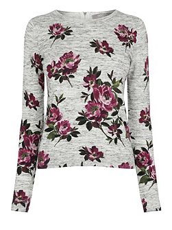Painted Rose Knit
