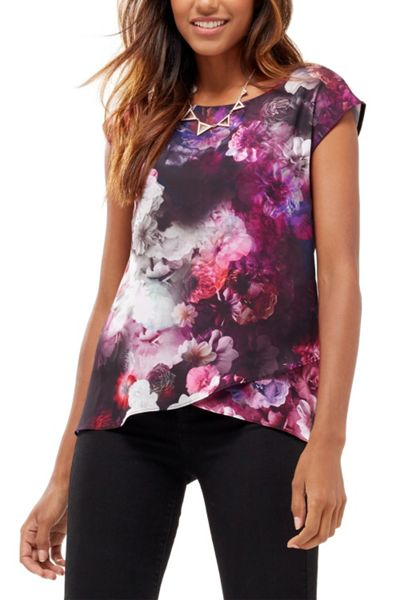 Oasis Winter Floral T Shirt
