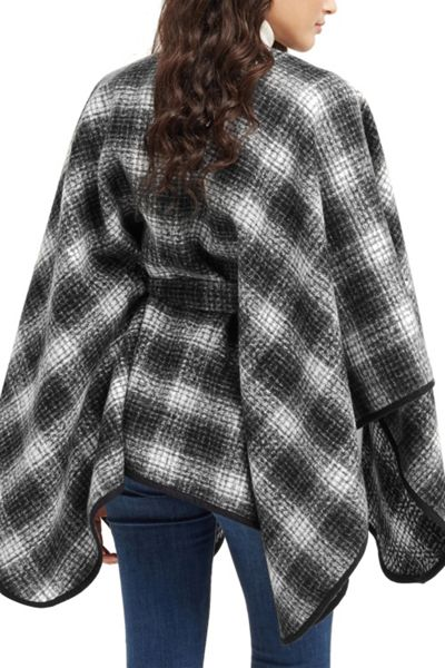 Oasis Belted Check Wrap