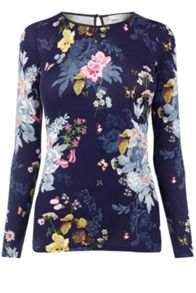 Oasis Botanical Bouquet Boatneck