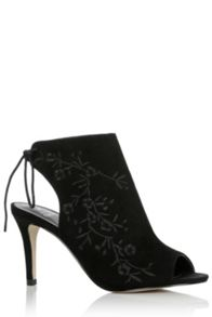 Oasis Ellie Embroidered Peeptoe Shoe