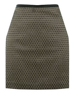 Aztec Jacquard Mini Skirt