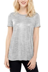 Oasis Wrap Back Foil Tee