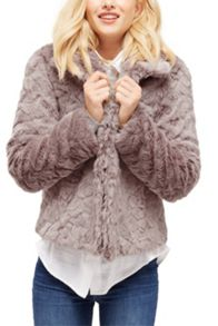 Oasis Dolly Twisty Fur Coat