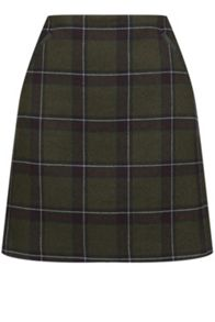 Oasis Check Marley Mini Skirt