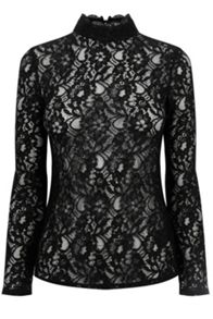 Oasis Lace Turtle Top