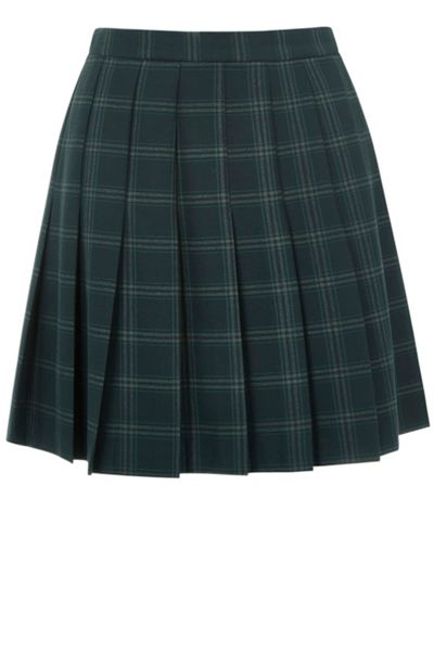 Oasis Check Pleated Kilt