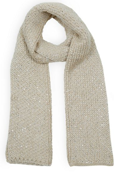 Oasis Sequin Scarf