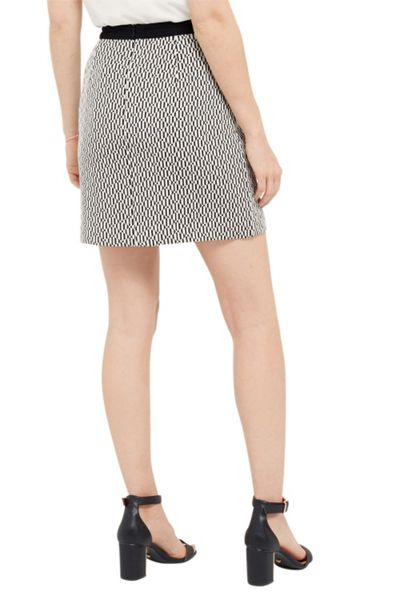 Oasis Block Party Asymmetric Skirt