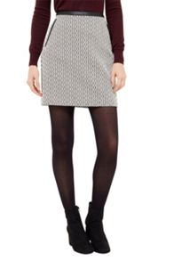 Oasis Block Party Jacquard Skirt