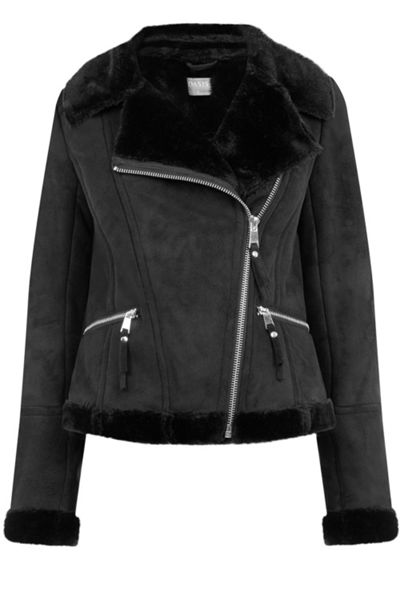 Oasis Faux Shearling Jacket