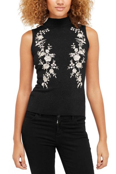 Oasis Osaka Embroidered Top