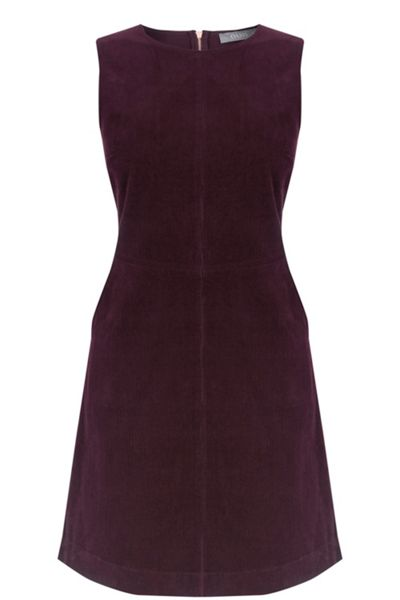 Oasis Elise Cord Shift Dress