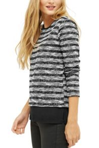 Oasis Sparkle Stripe Top